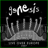 Cover der Doppel-CD 'Live Over Europe'